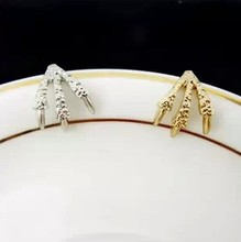 Fashion joint trachypenaeus ring female pinky ring(China)