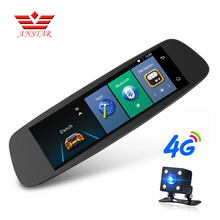 "ANSTAR 4G Car Camera 7.84"" Touch Android WiFi Car DVR 1080P Rear View Mirror With DVR And Camera Dash Cam Registrar Car Recorder(China)"