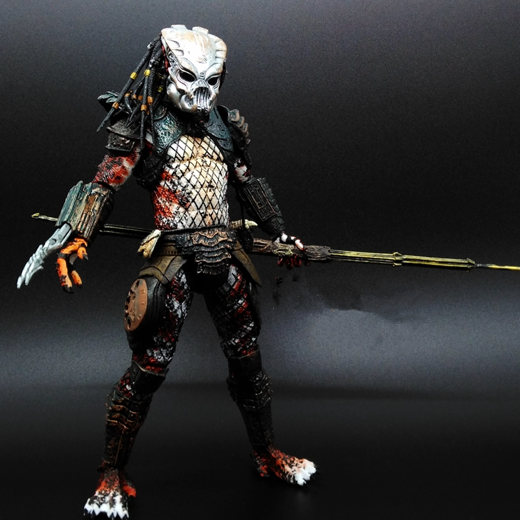 SAINTGI Alien vs Predator toy Mixed human AVP ABS 20cm Model Collectie kids MOVIE Brinquedos Series Scar Sci-Fi Film Lone wolf<br>