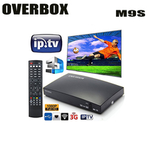 Amazon best seller OVERBOX openbox M9S HD Satellite TV Receiver Card Sharing NEWcam IPTV DVB-S2 satellite Receiver(China)