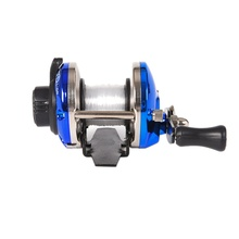 Mini Metal Bait Casting Spinning Boat Ice Fishing Reel Fish Water Wheel Baitcast Roller Coil with 50M Wire Fishing Supplies(China)