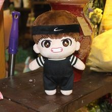2017 KPOP BTS Bangtan Boys Handmade Kim Tae Hyung Characters Plush Toy Stuffed Doll Fans Gift Craft Collection 16110508(China)