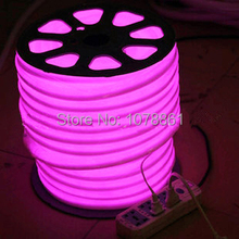 ShenZhen Factory Outlet LED Neon Flex Pink 110V,220V,DC12V,24V,36V 80led/m F3 Epistar DIP  led neon pink color for building Dec