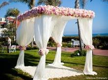 DesserXixi 101010 Pure White Square Canopy Wedding