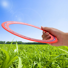 Arshiner New kids toy Sporting Flying Disk Disc Big Frisbee 9.8inch Education Outdoor Toy Classic Ring Shape High Quality
