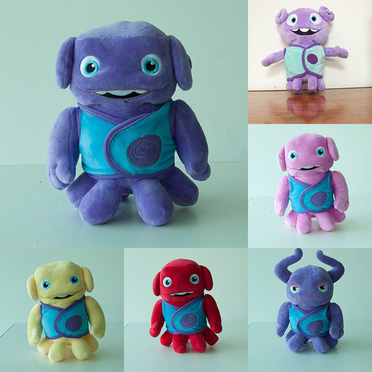 New New Anime 10 pcs/set 20cm HOME Oh Movie Film Boov Alien Plush Doll Boov Rainb Stuffed Toys Gift for Children<br><br>Aliexpress