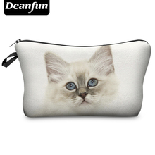 Deanfun 3D Printing Travel Cosmetic Bag 2016 Hot-selling Women Brand Small H75