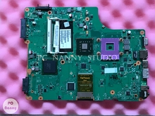 for Toshiba Satellite A505 Laptop Motherboard V000198010 6050A2250201 DDR2 GM45 & free CPU works(China)