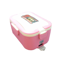 Lunch Bento Box Dish Set 12V Electric Portable Car Food Heater Fresh Keeper Warmer Bento Food Container Dining Table Set