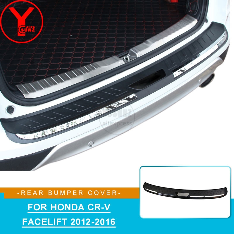 2012-2014 Honda CR-V Stainless Steel Rear Bumper Protector Guard