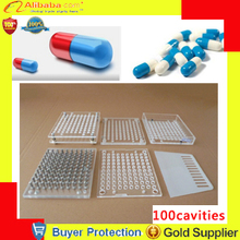 free shipping capsule filling machine,manual medicinal powder capsule filler,medicine cachet collocystis tools 100 cavities(China)