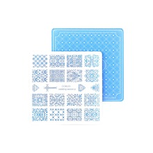 Buy Nail Stamping Plates Nail Art Stamp Template Image Plate Nails DIY Tool Acrylic Stamp Wedding Theme Set 01-04 for $4.53 in AliExpress store