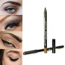 1pcs Waterproof Eye Liner Pen Smooth Gel Eyeliner Pencil Party Queen Brand Makeup Cosmetics Black Brown Smoky Eye Make Up