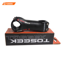 Toseek Carbon Stem Boxed genuine 31.8mm bicycle stem SC50 road Carbon Bike Stems 6/17 Degree 70/80/90/100/110/120/130mm matt(China)