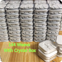 100Pcs/lot 1M 3.0mm 8pin USB Data Sync Charger Cable Lead For iPad 4 iPhone 5 5c 5s 6 6s Original Cable Crystal box packing