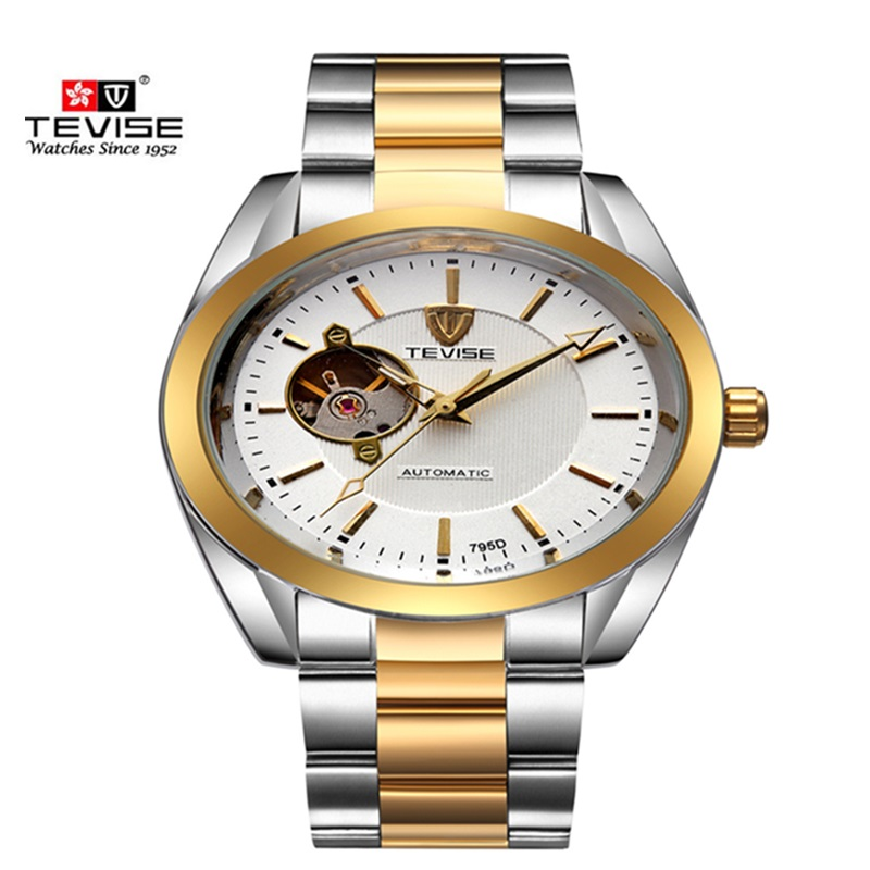 Men Watches Luxury Brand TEVISE Automatic Mechanical Men Watches Tourbillon Waterproof Calendar Watch Male Clock Wristwatches<br><br>Aliexpress