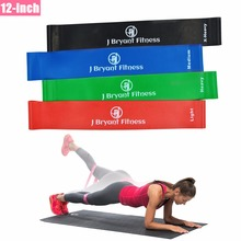 12-inch Thick Resistance Bands 100% Natural Latex Elastic Workout Loop Bands Best For Pilates Yoga Rehab Physical Therapy(China)