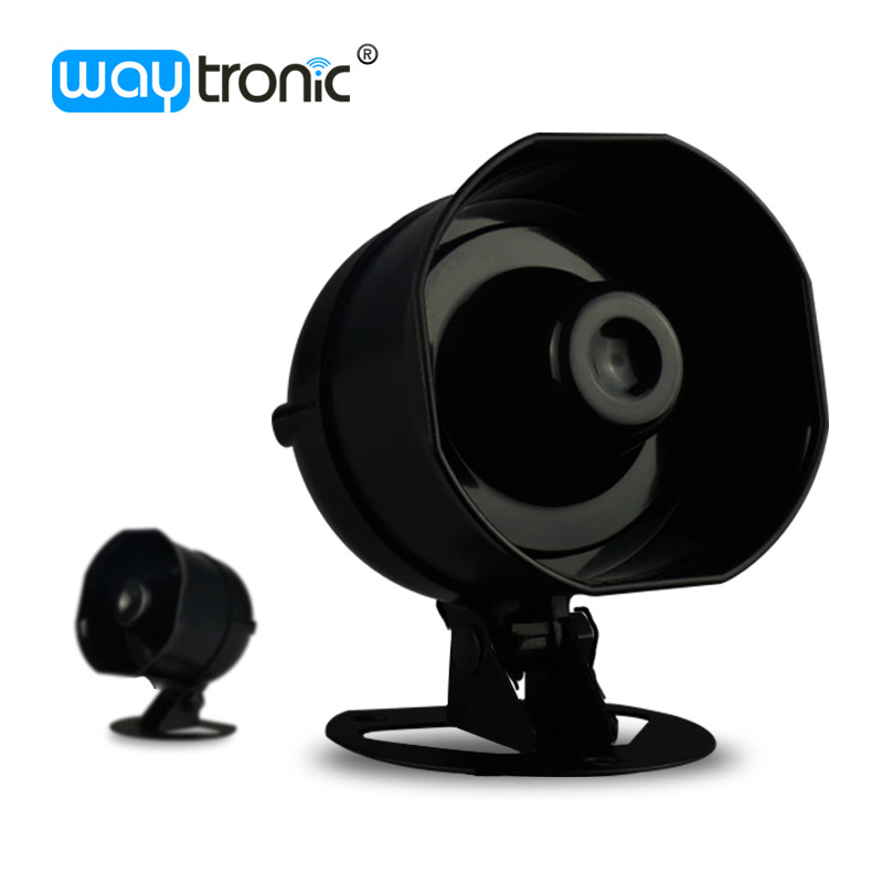 10W Small Siren Alarm Horn Audio Speaker Outdoor Voice Broadcast Support micro SD Card Playback Speech Customization<br>