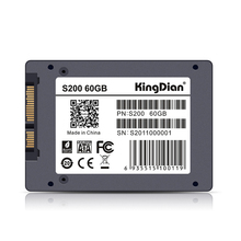 KingDian High Cost Performance Factory Direct Quality Assurance SATA3 internal  Hard Drive Solid State Disk  S200 60 GB 64GB SSD