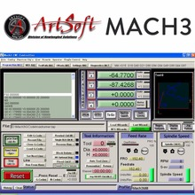 English/French Engraving Control CNC Software Artsoft Mach3 w/ License for Lathes, Mills, Routers, Lasers, Plasma, Engraver(China)