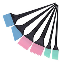 6pcs/set Hair Dyeing Brushes Spatula Coloring Comb Kit Set Hair Mixing Color Stirrer Scraping Comb Pro Salon Barber Styling Tool(China)