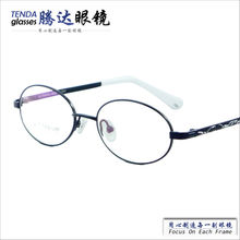 Branded Name Fashion Designer Cheap Lovely Full Rim Memory Alloy Children Eyewear With Myopia Clear Lenses