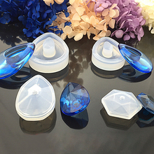 Liquid Silicone Mold DIY Resin Jewelry Pendant Necklace Lanugo Craft Jewelry Moulds Tool #Y51#