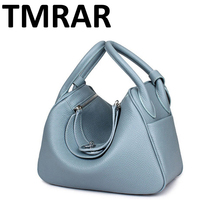 2017 New Candy genuine leather women handbags chic lady main new modern brand design shoulder bags hot selling M1998