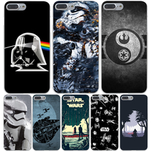 Star Wars Hard Transparent Cover Case for iPhone 7 7 Plus 6 6S Plus 5 5S SE 5C 4 4S