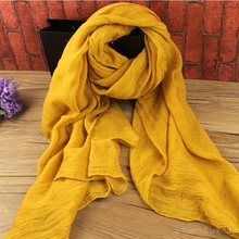Women Chinese Cheap Beach Towel Tunic Dust Mask Wind Luxury Dual-use Shawl Summer Linen Scarf Indian New Year Gifts Stoles Wraps(China)
