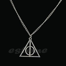 JAVRICK Hot Selling Film Movie Harry Potter -Deathly Hallows Alloy Men Necklaces & Pendants