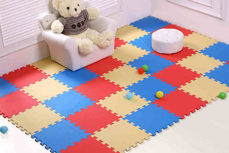 Foam Tegels Baby : Meitoku baby eva foam play puzzel mat of lot grijpende