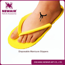 Disposable Maincure Slipper EVA Foam Easy Slip Slippers Nail Tools Set Free Nail File & Toe Separators Support wholesale