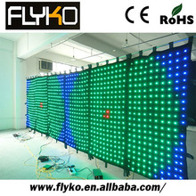 Buy cheap video led curtain led vision curtain perfect of dj decoration(China)