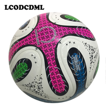 2017 new high quality league soccer ball PU foot ball size5 professional training for adult child kid sports playing(China)