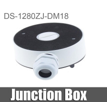 HIK Bracket Junction Box DS-1280ZJ-DM18 Indoor Celling Mount for DS-2CD21series and DS-2CD31series(China)