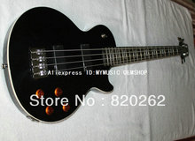 Wholesale Newest 4 Strings lp Electric Bass In Black Best High Quality Free Shipping
