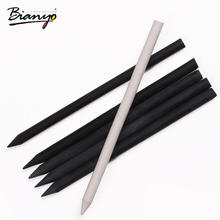 Bianyo 6pcs Black Sketch Charcoal Pen For Artist Drawing Set, Child Pastel Pencil Color Art Material Stationery for Art Material(China)