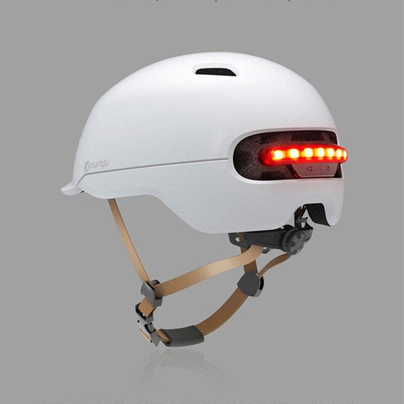 Xiaomi Smart4u Bicycle Smart Flash Half Helmets (8)