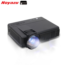 Noyazu Mini LED Projector 1800 Lumens TV Home Theater Support Full HD 1080p Video Media player Hdmi LCD 3D Beamer