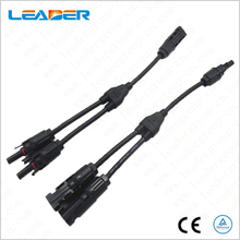 Solar Connector Y Branch 2 to 1 MC4 Connector UL/TUV Standard with 4mm2 Solar Cable For Solar System  LJ0154