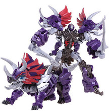Cool Transformation Robot Car Toys Movie 4 Dragon Action Figures Boy Toys Anime Brinquedos Model Juguetes Classic Children Gift(China)
