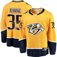 #35 Pekka Rinne Nashville Predators Fanatics Hockey Jersey Embroidery Stitched Customize any number and name Jerseys(China)