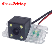 Free Shipping CCD HD chip Car Back Up Rear View Reverse Parking Camera for FORD MONDEO/FIESTA/FOCUS HATCHBACK/S-Max/KUGA(China)