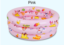 Inflatable kids toys Trinuclear Inflated Pool Baby Swimming Pool Piscina Portable Outdoor Children Basin Bathtub Infant 3 color(China)
