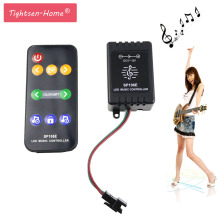 SP106E 9keys LED Music Controller DC5V-12V WS2811 /WS2812B /6812 /1903/6803 Magic LED tape digital colorful music controller(China)
