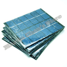 5pcs/lot 6V 330mA 2W mini solar panels small solar power 3.6v battery charge solar led light solar cell drop shipping-10001026