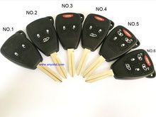 for Chrysler 300C , Sebring , PT Cruiser , for Dodge , for Jeep wrangler , Compass car fob remote key control 315mhz  or 433mhz