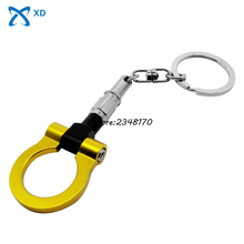 Creative Gifts Key Fob Turbo Car Accessories For Opel Dodge Trailer Hook Keychain Key Chain Auto Part Keyring Ring Towing Hot