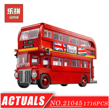 Genuine LEPIN 21045 Technic Series London Bus Set DIY Model Car Building Kits Blocks Bricks Children Toys Hobbies Christmas - LepinBlock Store store